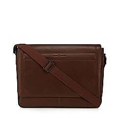 J by Jasper Conran - Brown leather despatch bag