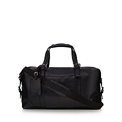 Hammond & Co. by Patrick Grant - Black grained leather holdall bag