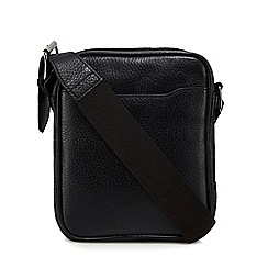Hammond & Co. by Patrick Grant - Black leather cross body bag