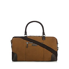 J by Jasper Conran - Tan suede holdall bag