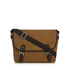 J by Jasper Conran - Tan suede satchel bag