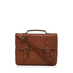 The Collection - Brown laptop briefcase