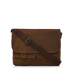 Mantaray - Natural twill despatch bag
