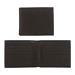 J by Jasper Conran - Black leather billfold wallet