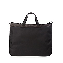 Jeff Banks - Black textured suit carrier