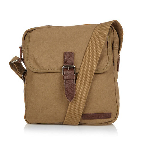 RJR.John Rocha - Designer natural coated canvas shoulder bag