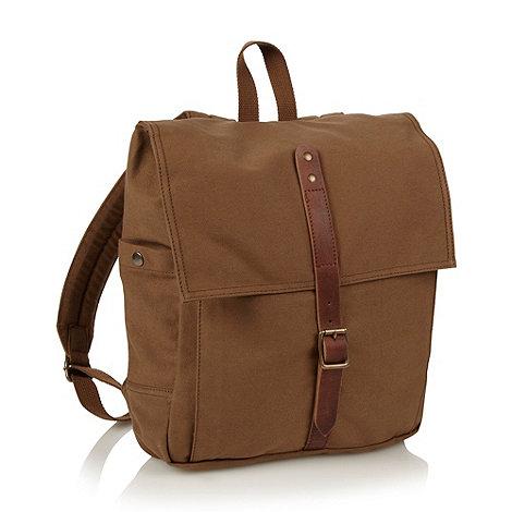 RJR.John Rocha - Designer khaki twill backpack