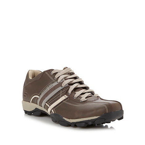Skechers - Brown +Urbantread Refresh+ trainers
