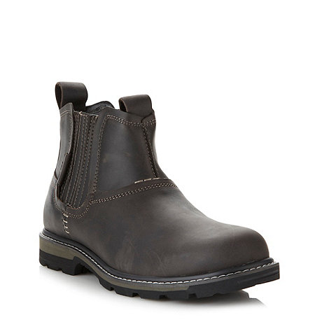 Skechers - Black +Blaine Orsen+ leather boots
