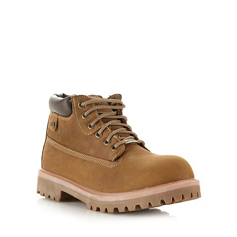 Skechers - Tan +Sergants Verdict+ boots