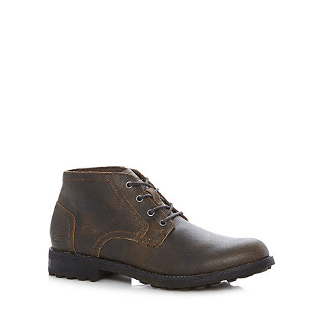 Skechers - Brown +Hanks Mortlock+ boots