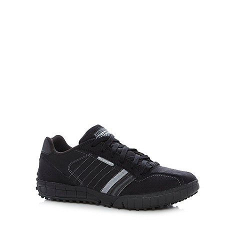 Skechers - Black +Floater Go West+ trainers