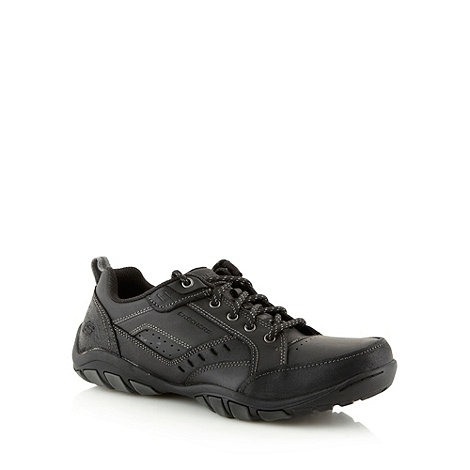 Skechers - Black +Dixon Spyden+ trainers