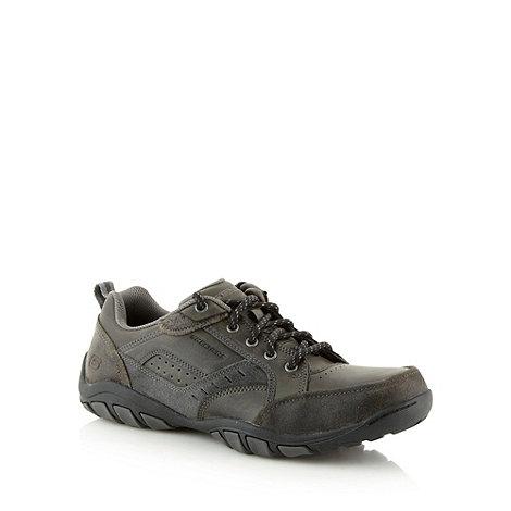 Skechers - Grey +Dixon Spyden+ trainers