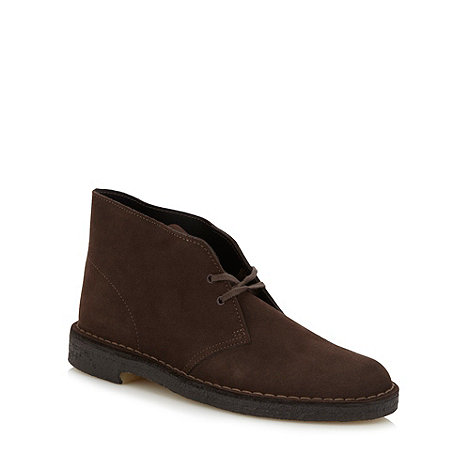 Clarks - Clarks Originals brown leather desert boots