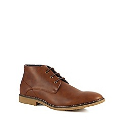 Red Herring - Tan 'Flare' Chukka boots