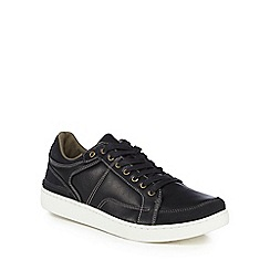 Red Herring - Black 'Logan' trainers