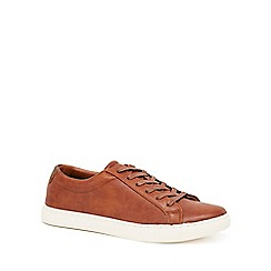 Red Herring - Tan 'Dylan' lace up trainers