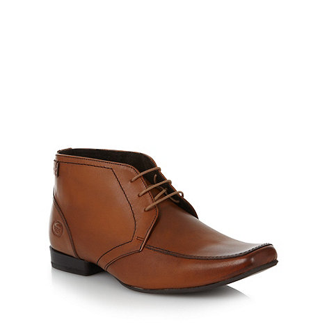 Base London - Tan leather ankle boots