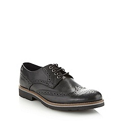 Base London - Black leather brogues