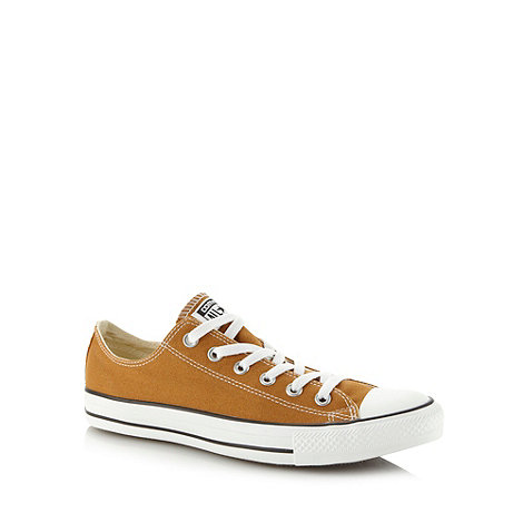 Converse - Light brown +All Star+ canvas trainers
