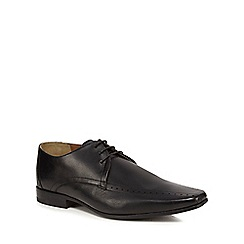 Jeff Banks - Black leather 'Orwell' Derby shoes