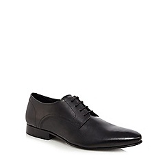 Jeff Banks - Black leather 'Kenilworth' Derby shoes