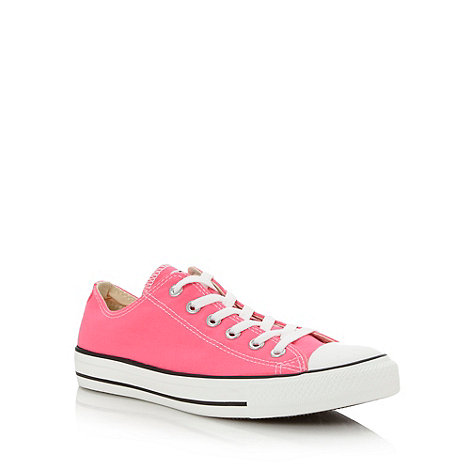 Converse - Bright pink +All Star+ trainers