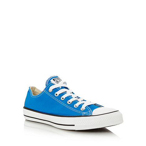 Converse - Bright blue +All Star+ trainers