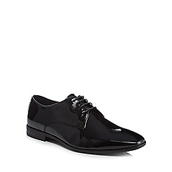 Hammond & Co. by Patrick Grant - Black leather 'Ryde' Derby shoes