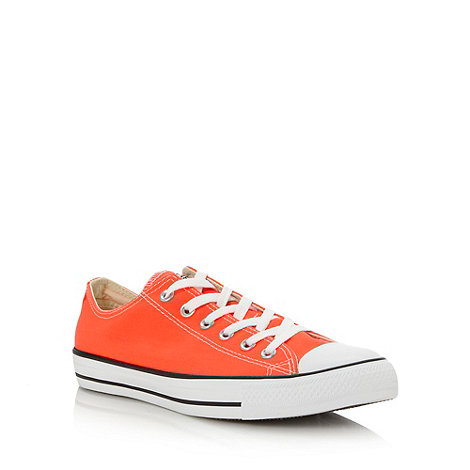 Converse - Bright orange +All Star+ trainers