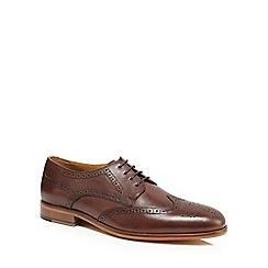 J by Jasper Conran - Dark brown leather 'Asti' brogues