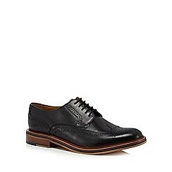 Hammond & Co. by Patrick Grant - Black leather 'Balham' brogues