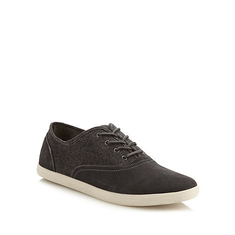 Call It Spring - Navy suede leather and canvas +Skolfield+ trainers