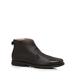 Henley Comfort - Brown chukka leather boots