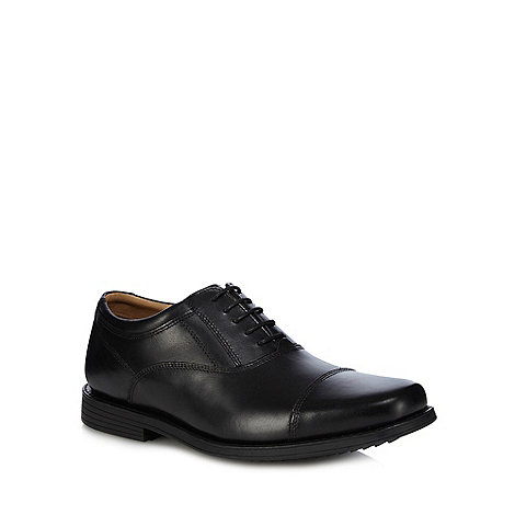 Henley Comfort - Black leather lace shoes