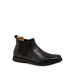 Henley Comfort - Black leather Chelsea boots