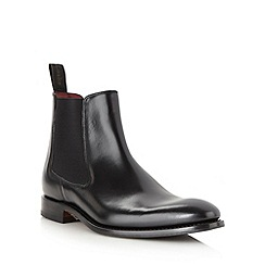 Loake - Black leather ankle boots