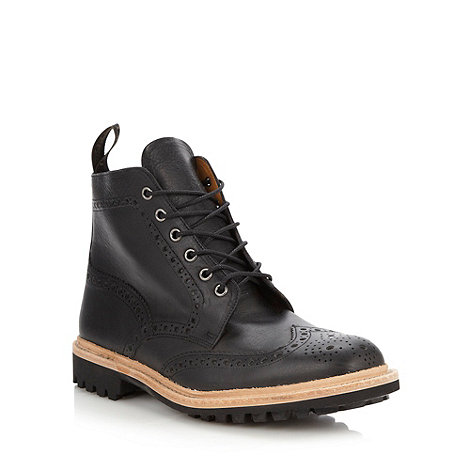 Loake - Black leather boots