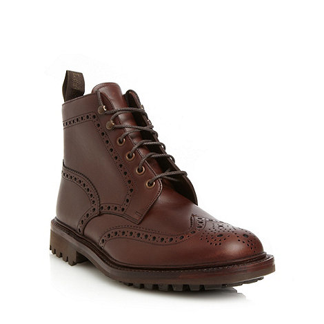 Loake - Brown ankle leather boots