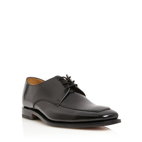 Loake - Black formal lace up leather shoes