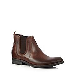 RJR.John Rocha - Designer tan suede chelsea boots
