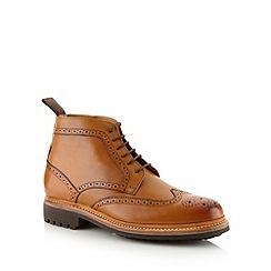 RJR.John Rocha - Designer tan leather brogue boots