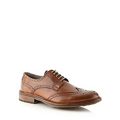 RJR.John Rocha - Designer tan leather brogues