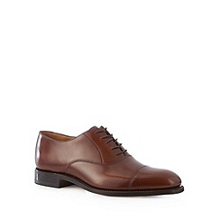 Loake - Designer tan leather shoes
