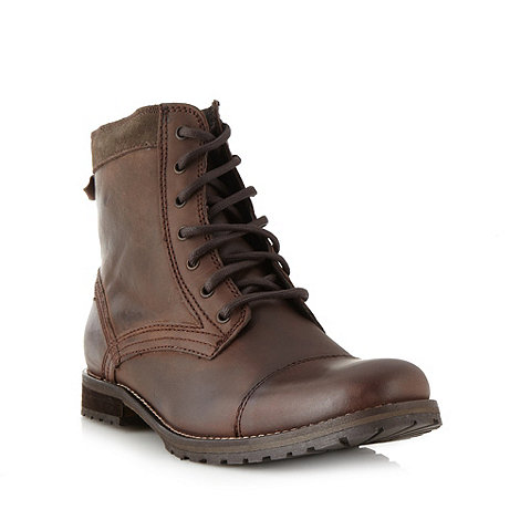 FFP - Brown lace up boots