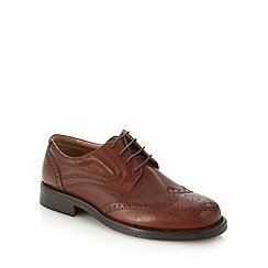 Red Tape - Brown leather lace up brogues
