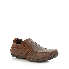 Mantaray - Chocolate brown casual shoes