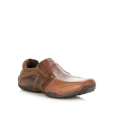 Mantaray - Dark brown casual shoes