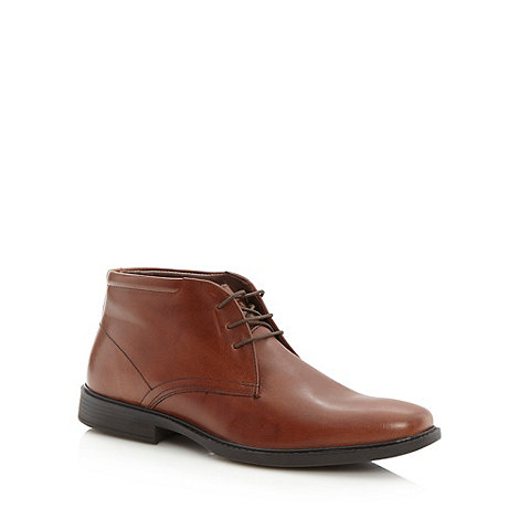 Henley Comfort - Tan leather chukka boots